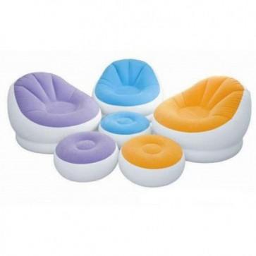 Intex Cafe Chaise Chair mit Sitzpuff