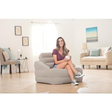 Accent chair grijs